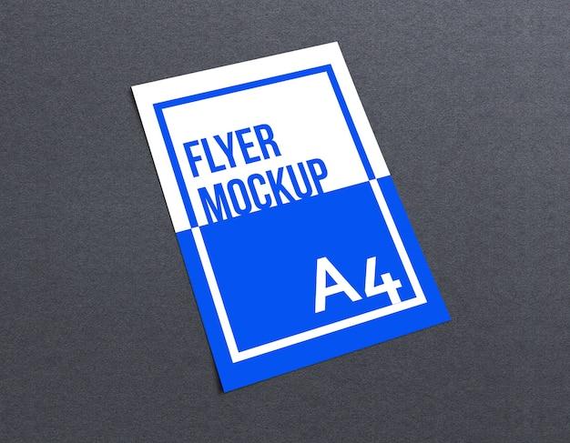 A4 flyer mockup Premium Psd