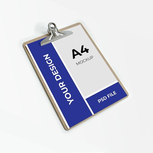 A4 klembordmodel Premium Psd