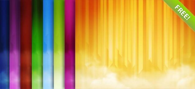 Abstract lineaire achtergronden Gratis Psd