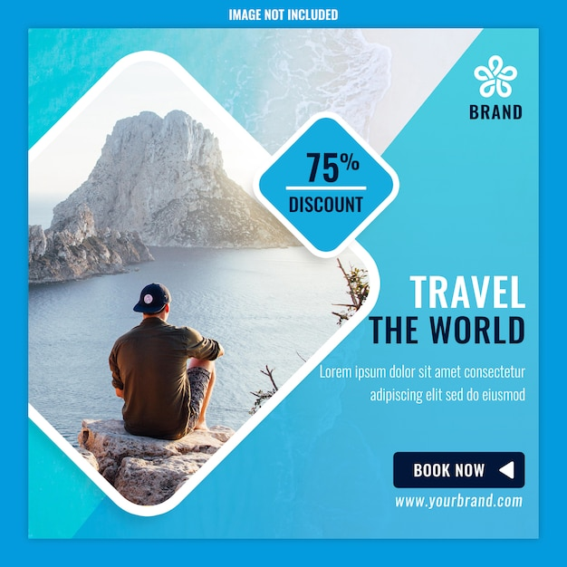 Adventure-advertenties Premium Psd