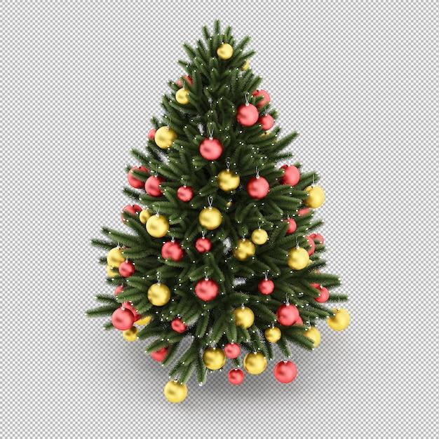 Árbol de navidad PSD Premium