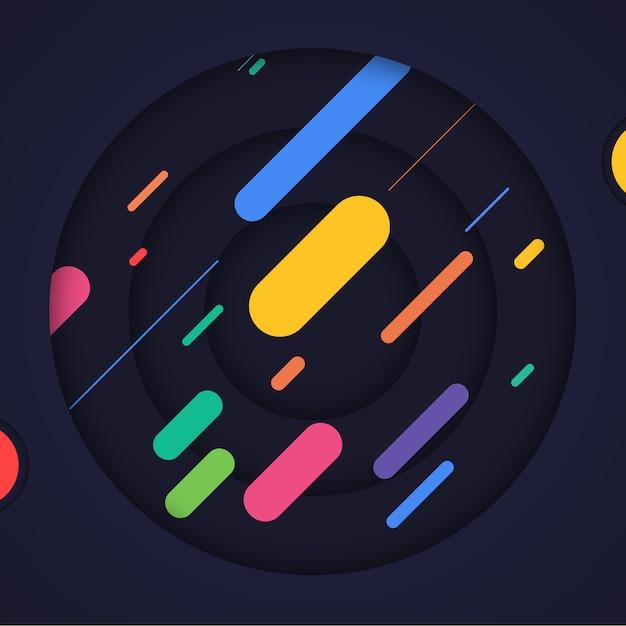 Astratto sfondo multicolore Psd Gratuite