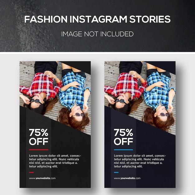 Banner de moda de instagram PSD Premium