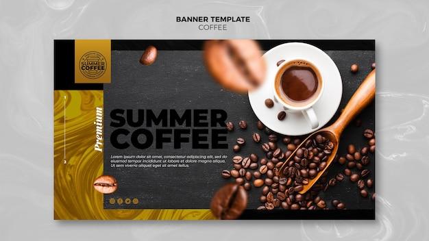Banner modello caffetteria Psd Gratuite