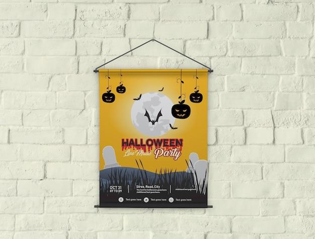 Banner poster flyer maqueta PSD Premium