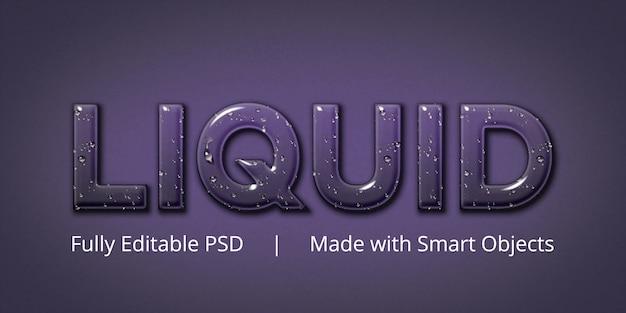 Bewerkbaar tekststijleffect Premium Psd