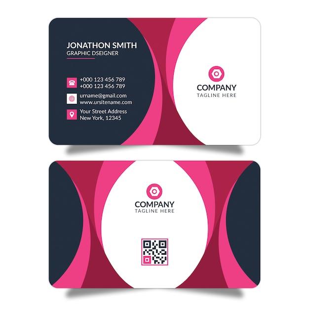 Biglietto da visita creativo Psd Premium