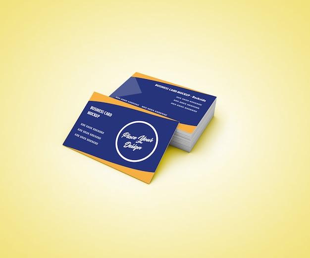 Biglietto da visita mockup Psd Premium