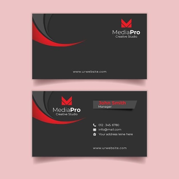 Biglietto da visita professionale Psd Premium