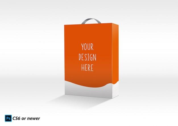 Bolsa de papel maqueta PSD Premium
