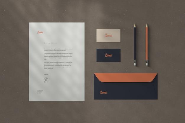 Branding / stationery mockups Premium Psd