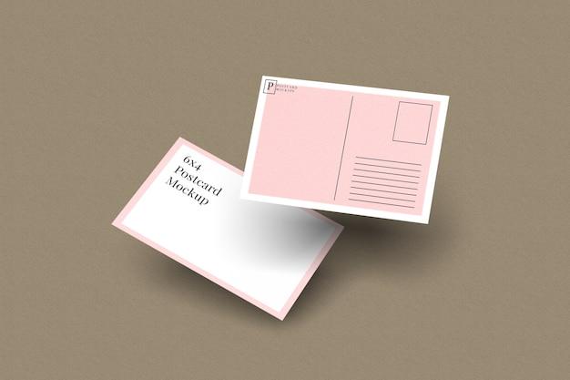 Briefkaart en uitnodigingsmodel 2 Premium Psd