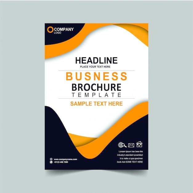 Brochure aziendale headline Psd Premium