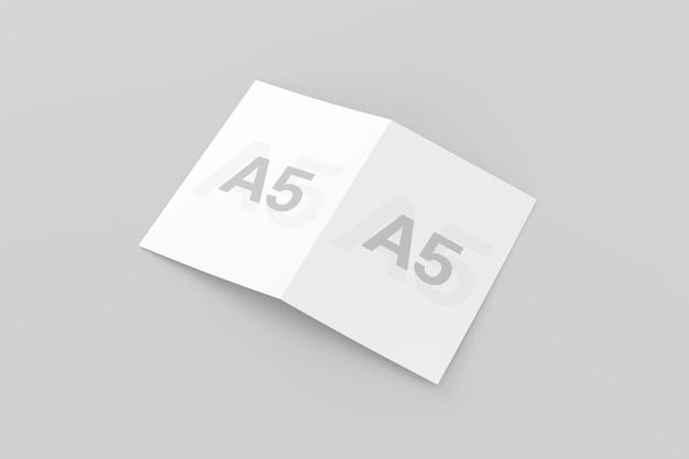 Brochure bifold a5 / a5 Psd Premium