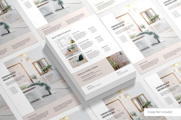 Brochure patroon Premium Psd