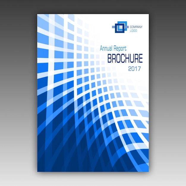 Brochure template ontwerp Gratis Psd