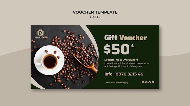 Buono regalo per caffè Psd Gratuite