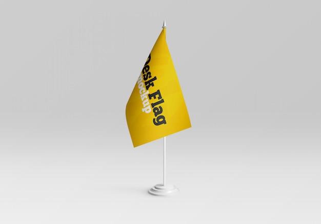Bureau vlag mockup Premium Psd