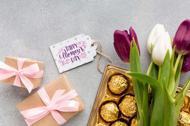 Cadeaus voor damesdagviering Gratis Psd