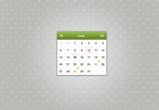 Calendario sexy Psd Gratuite
