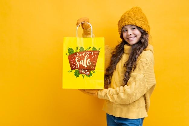 Campaña de marketing para ventas estacionales. PSD gratuito