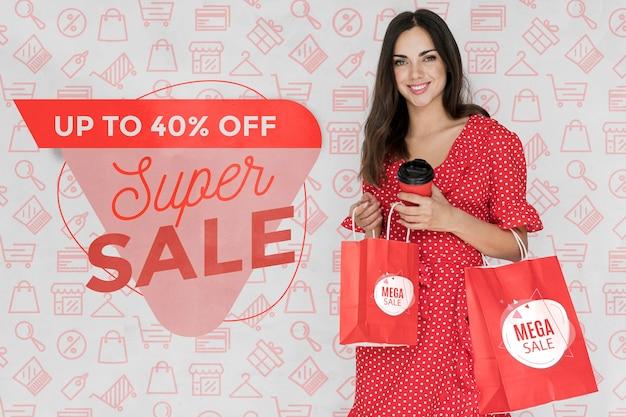 Campaña promocional con ofertas especiales disponibles. PSD gratuito