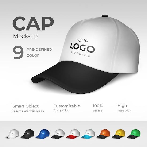Cap mockup Psd Premium