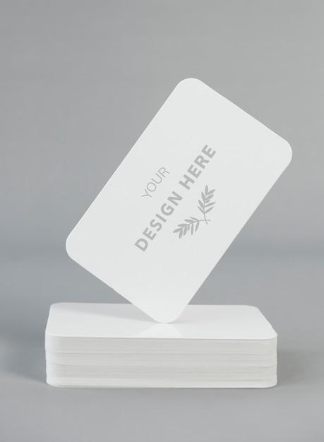 Card mockup Psd Gratuite