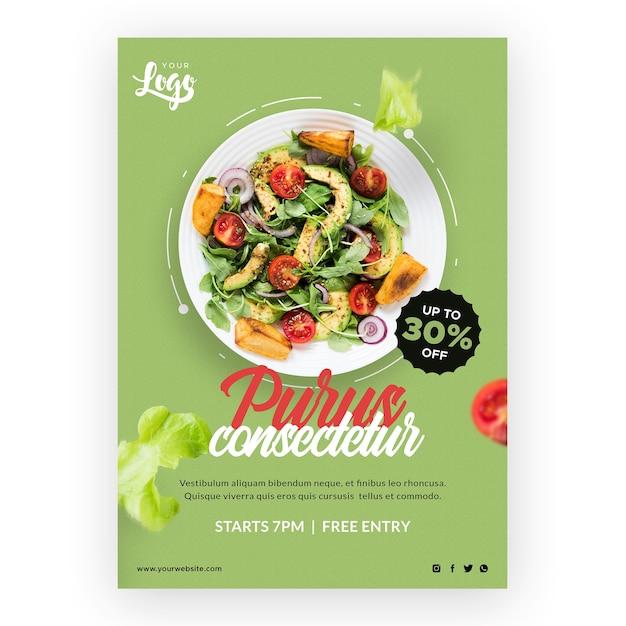 Cartoleria bio e cibo sano Psd Gratuite
