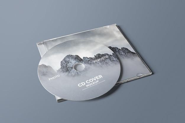 Cd / dvd cover mockup Psd Premium