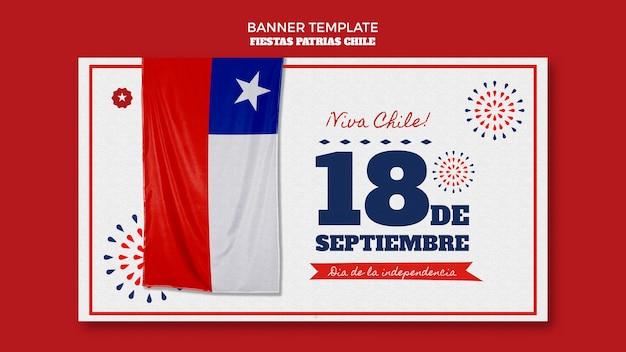Chili internationale dag banner thema Gratis Psd