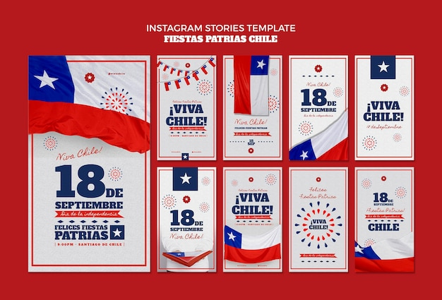 Chili internationale dag instagram-post Gratis Psd