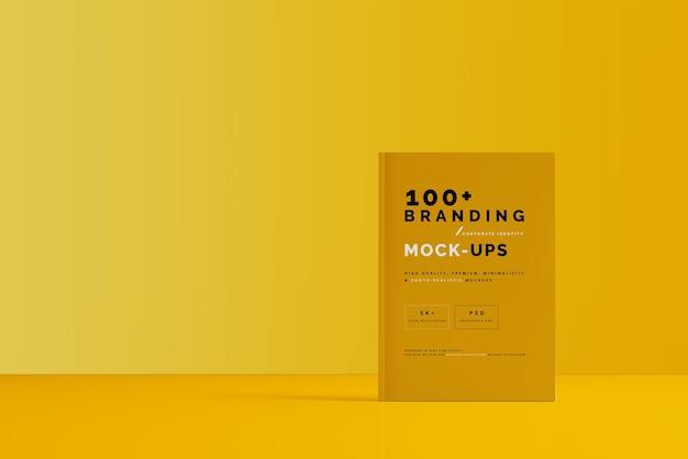 Close-up op verpakking van tijdschriftmodel Premium Psd