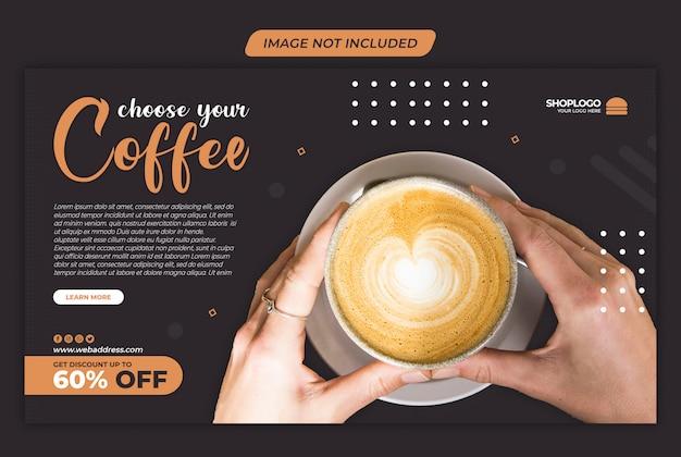 Coffee sale instagram sociale mediasjabloon premium psd Premium Psd