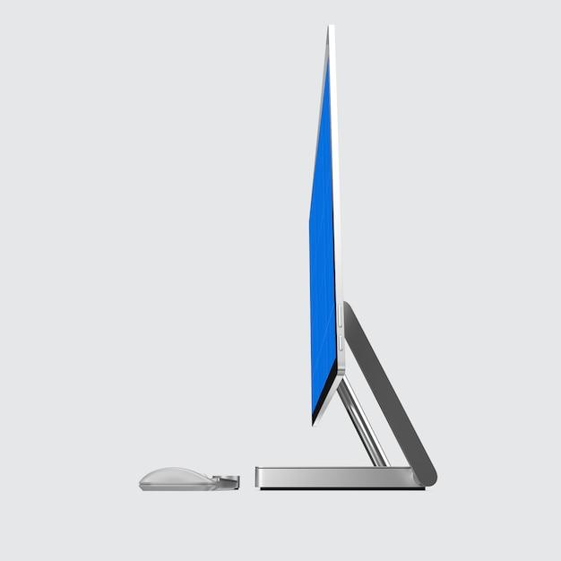 Computerscherm mockup Premium Psd