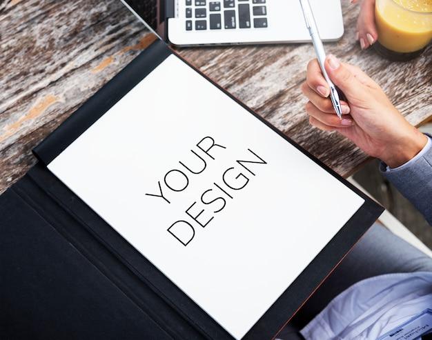 Concepto del éxito del planeamiento de la estrategia del análisis de negocio PSD gratuito
