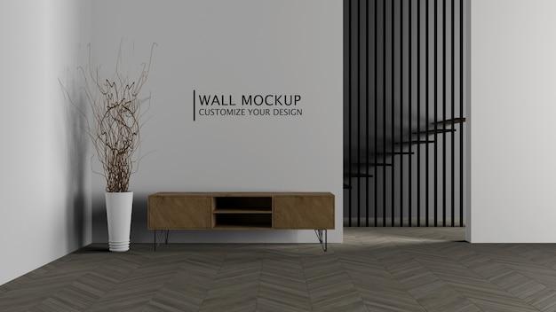 Concetto di minimalismo di decorazione d'interni Psd Gratuite
