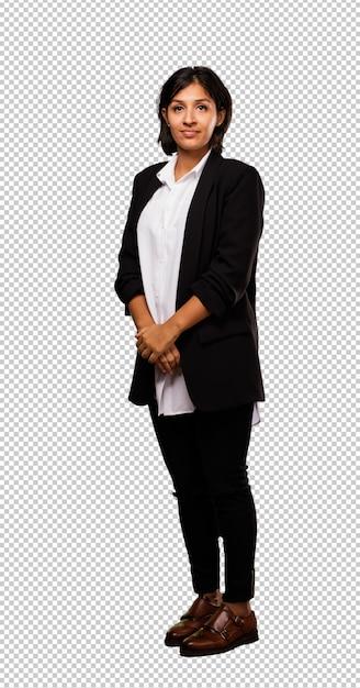 Condizione latina della donna di affari Psd Premium