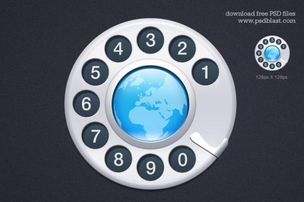 Contattaci icon psd Psd Gratuite