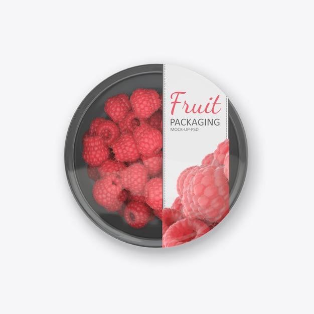 Contenitore per alimenti in plastica Psd Premium