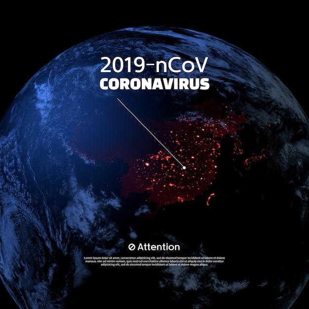 Coronavirus 2019-ncov-concept Premium Psd