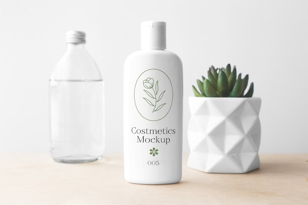 Cosmetica fles mockup collectie Premium Psd