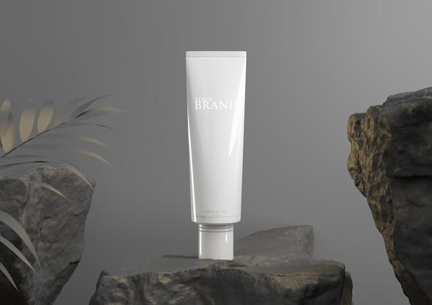 Cosmética premium hidratante para el cuidado de la piel. PSD Premium