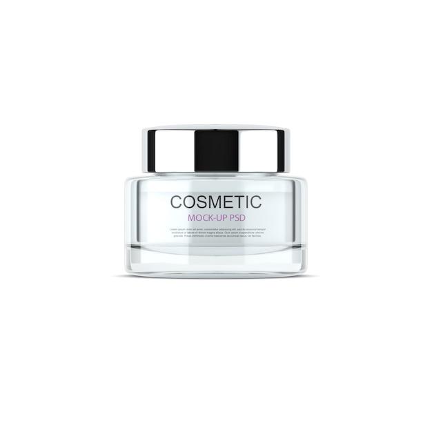 Cosmetische mock-up Premium Psd