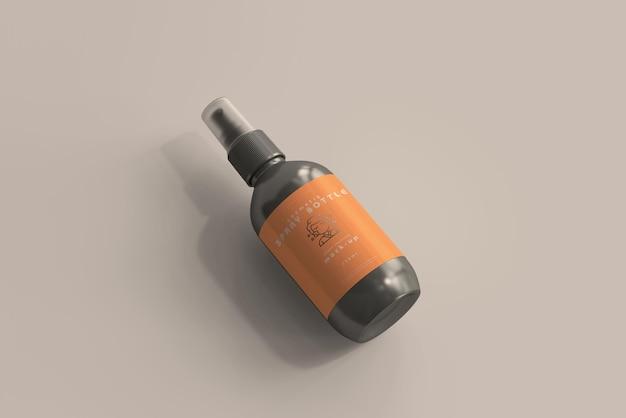 Cosmetische spuitflesmodel Gratis Psd