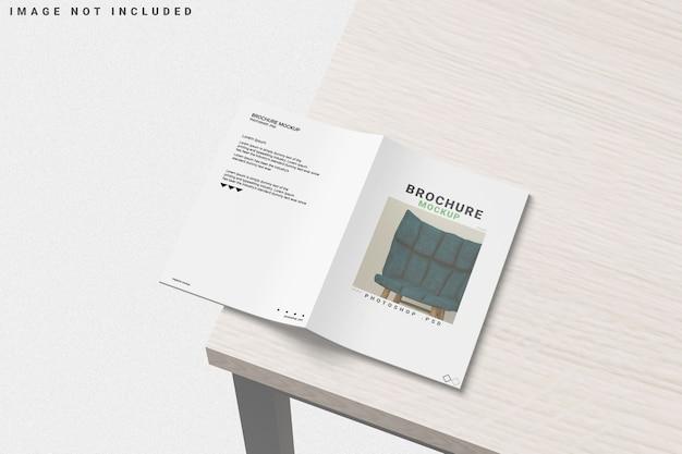 Cover brochure mockup Premium Psd