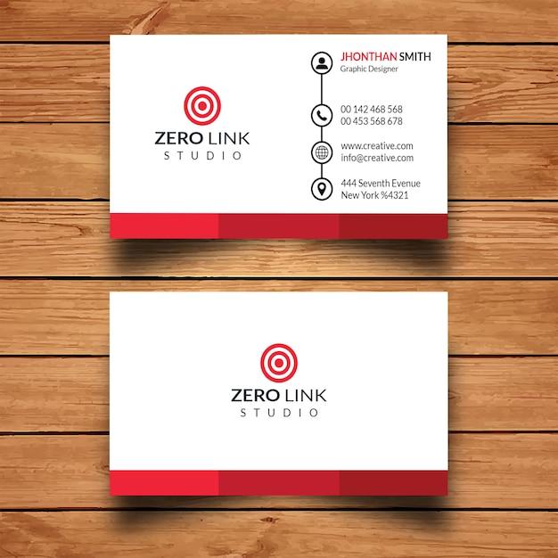 Creatief visitekaartje Premium Psd