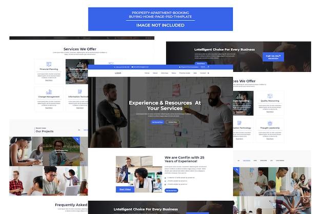 Creative digital agency-sjabloon Premium Psd