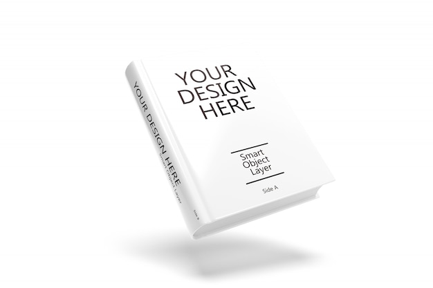 Cubierta de libro maqueta PSD Premium