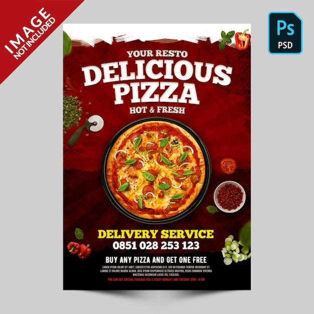 Deliziosa promozione della pizza Psd Premium